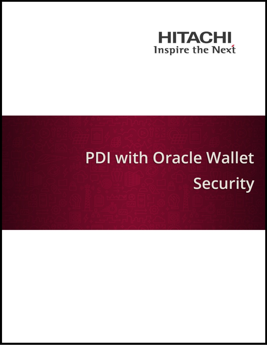 Pentaho Data Integration (PDI) with Oracle Wallet Security